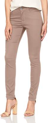 Lee Women's Slimming Fit Rebound Skinny Leg Jean, Electric-Destruction Features