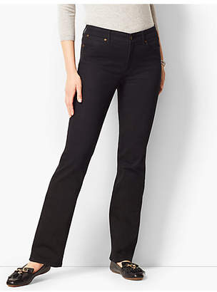 Talbots High Rise Barely Boot Jeans- Black