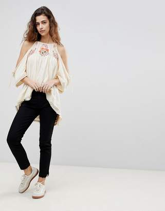 Free People Crop Cigarette Jeans