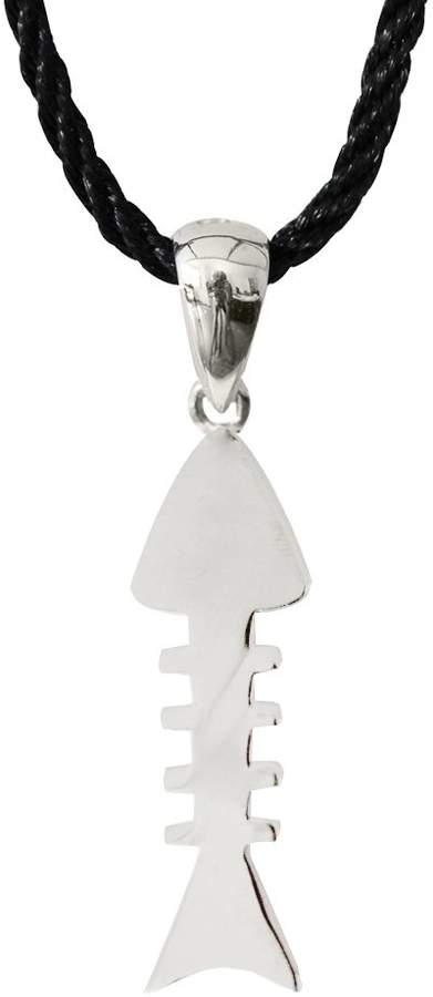 Silver / Pendant fish bone design available as a set by Shalalla London