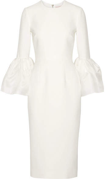 Roksanda - Margot Crepe De Chine Dress - Ivory