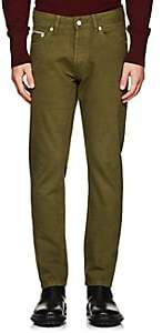 Officine Generale MEN'S SELVEDGE JEANS-OLIVE SIZE 31