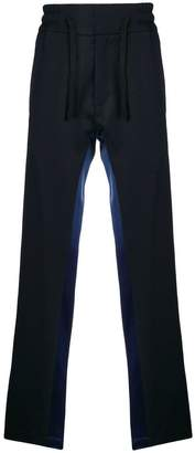 Christian Pellizzari side striped relaxed trousers