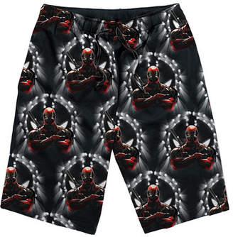 Marvel Deadpool Knit Pajama Shorts