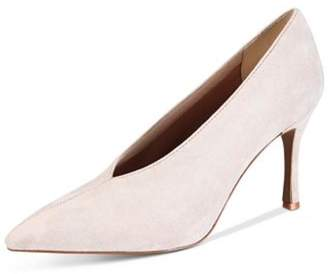 Kenneth Cole New York White Leather Pump
