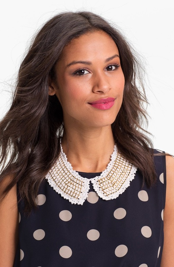 Tasha Crochet Collar Womens Ivory One Size One Size
