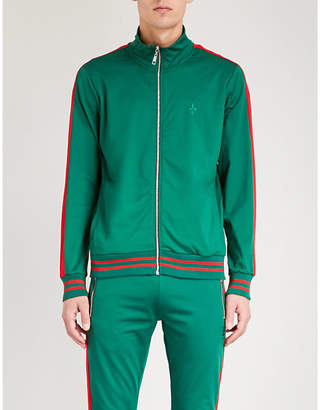 Criminal Damage Carnaby sports-jersey track jacket