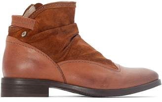 dkode Hyria Leather Ankle Boots