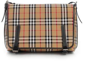 Burberry Large Vintage Check Shoulder Bag