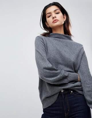 Vila Boat Neck Knit Sweater