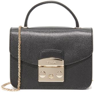 Furla Metropolis Top Handle Mini Cross Body Bag $328 thestylecure.com