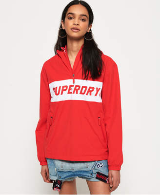 Superdry Hooded Half Zip SD-Windbreaker Jacket