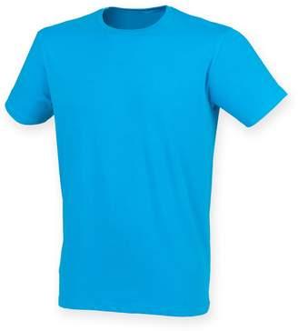 Skinni Fit Men Mens Feel Good Stretch Short Sleeve T-Shirt (2XL)