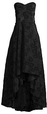 Shoshanna Women's Vilia Floral Strapless Gown