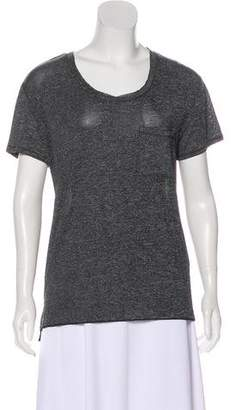 Rag & Bone High-Low Crew Neck T-Shirt