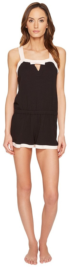 Kate Spade Kate Spade New York - French Terry Romper Women's Jumpsuit & Rompers One Piece