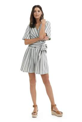 Country Road Stripe Linen Short