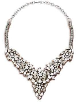 RED Valentino Crystal Bib Necklace
