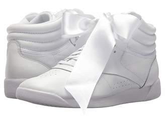 Reebok Freestyle Hi Satin Bow Women's Shoes