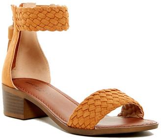Rock & Candy Nancie Woven Ankle Strap Sandal $59 thestylecure.com