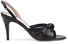 Gucci Women's Crawford Leather Sandals