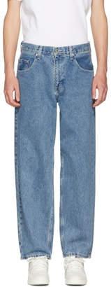 Levi's Levis Indigo Baggy Silver Tab Jeans