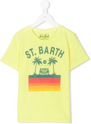 MC2 Saint Barth Kids logo printed T-shirt
