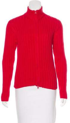 Saks Fifth Avenue Cable Knit Zip-Up Sweater