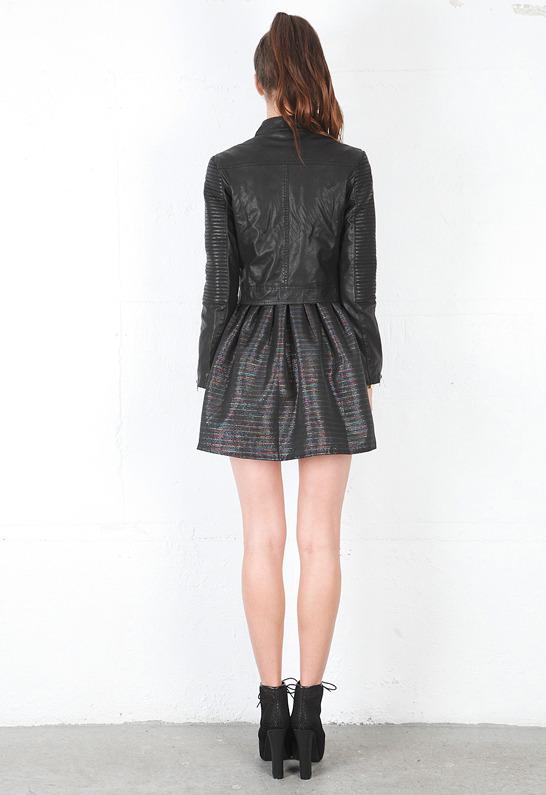 Motel Rocks Suzie Q Jacket in Black -