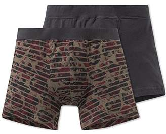 Schiesser Boy's Multipack 2Pack Shorts Boxer,Pack of 2