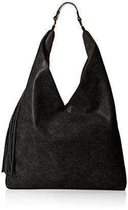Steve Madden Bkomfyy Hobo Bag,Black $64 thestylecure.com
