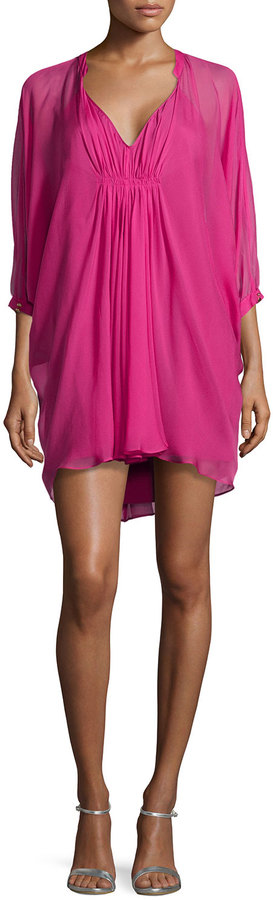 Diane von Furstenberg Fleurette Shift Dress, Dhalia