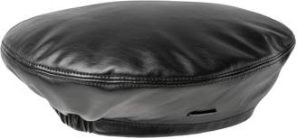 Kangol Faux Leather Beret