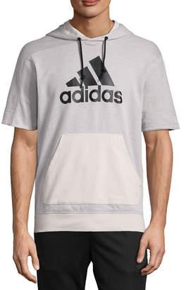 adidas Sports Id Short Sleeve Hoodie