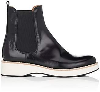 Derek Lam Women's Max Spazzolato Leather Chelsea Boots $895 thestylecure.com