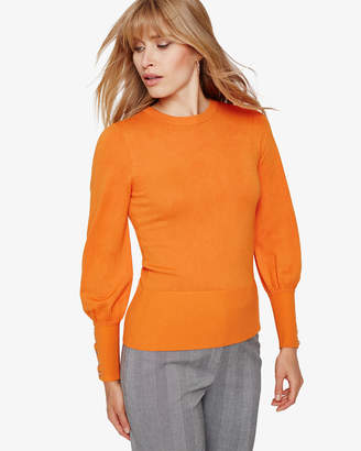 Phase Eight Peyton Button Sleeve Knitted Jumper