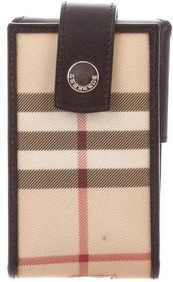 Burberry Nova Check Phone Holder