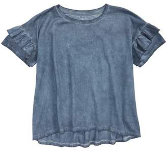 Treasure & Bond Ruffle Tee (Big Girls)