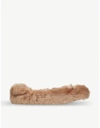 Sam Edelman Felina faux-fur ballerina flats