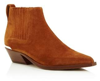 Rag & Bone Women's Westin Pointed-Toe Suede Low-Heel Booties