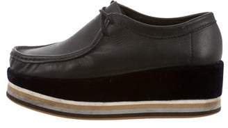 Surface to Air Leather Flatform Oxfords