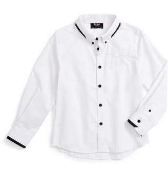 Boy's Bardot Junior Contrast Trim Shirt $54.95 thestylecure.com