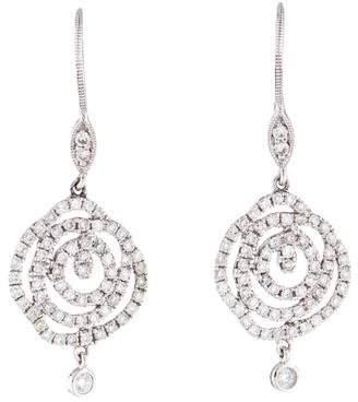 Meira T 14K Diamond Drop Earrings