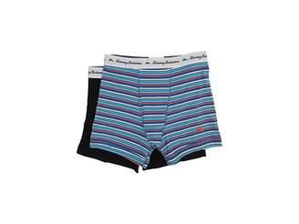 Tommy Bahama Stripe Stretch Cotton Comfort Boxer Briefs 2-Pack Men's Underwear