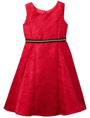 Dorissa Hannah Jacquard Dress (Little Girls)