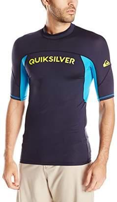 Quiksilver Men's Performer Short Sleeve Surf Tee Rashguard
