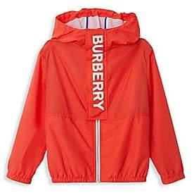 Burberry Little Boy's & Boy's Austin Logo Windbreaker Jacket