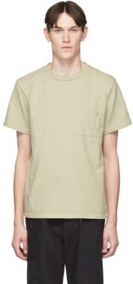 BEIGE paa Heavyweight Pocket T-Shirt