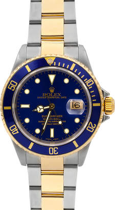 Rolex Pre-Owned Men's 18k Submariner Watch, Two-Tone