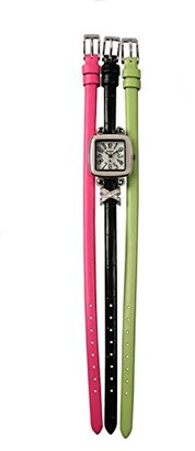 Avalon Women 's Interchangeable Straps Watch withチャーム# 3414